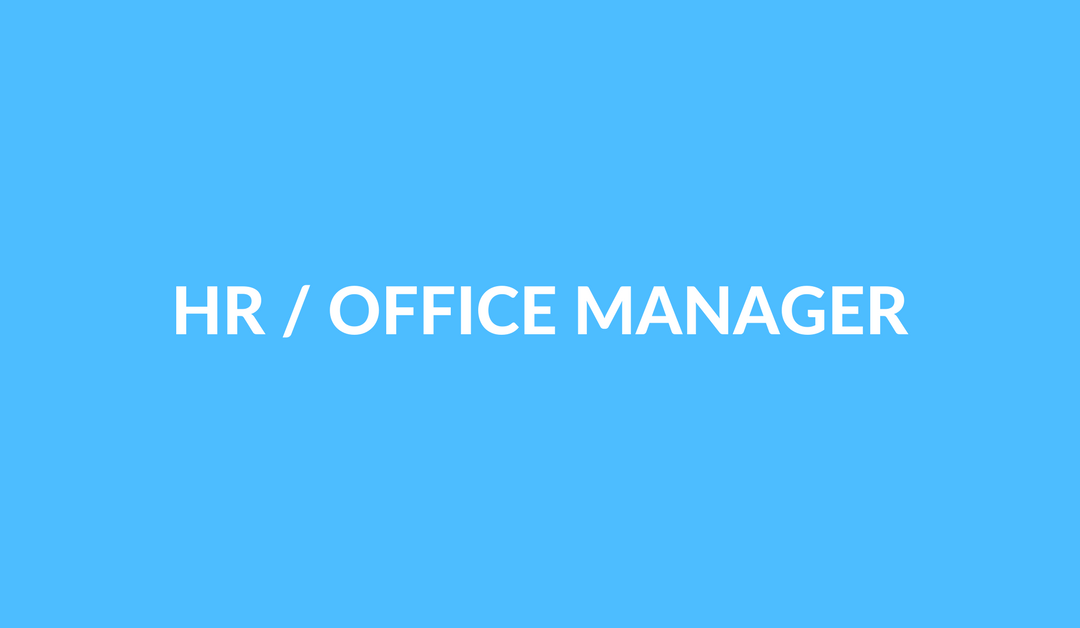 HR/Office Manager