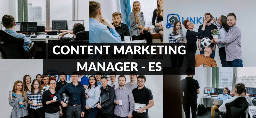 Content Marketing Manager/Growth Manager z hiszpańskim